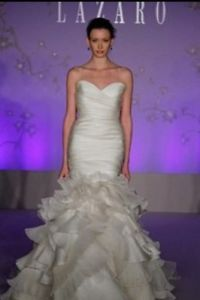 Beautiful Lazaro Wedding Dress Style