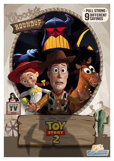 Toy Story 2 - movie poster - Simon Delart
