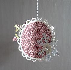 Christmas ornament designs | Custom Crops - Spellbinders Christmas Ornament