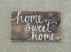 Hey, I found this really awesome Etsy listing at https://www.etsy.com/listing/231785185/rustic-home-sweet-home-sign-rustic