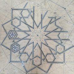 sergidelgado Pattern Drawing, Pattern Art, Arabesque, Motif Design, Design Art, Motifs Islamiques, Islamic Art Pattern, Peacock Art, Geometry Pattern