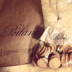 #ポワラーヌ この#クッキー 目当てemoji︎素朴な味で本当に#美味しい !!︎ 大量に#お土産( ˆᴗˆ ) . #Poilane #Paris #パリ #サンジェルマンデプレ