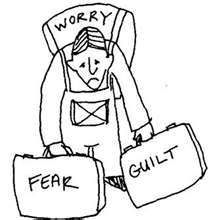 UNDOING GUILT AND FEAR. Fear is an unnatural dimensional condition that exists at the experiential level of realiy. The experiential level of reality is defined as the 3rd dimension. The 3rd dimension is called the mind/body, or self awareness. All awareness is consciously directed........... http://www.themiraclealchemist.com/the-undoing-of-unnatural-guilt-and-fear