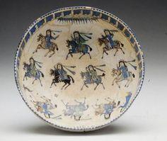 Bowl Depicting Ladies on Horseback, Iran ^ Minneapolis Institute of Art