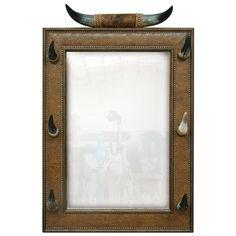 Cow Horn Mirror | Bathroom | Mirrors | Jorge Kurczyn Furniture