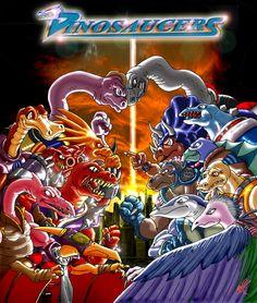 Dinosaucers = anthropomorphic dinos