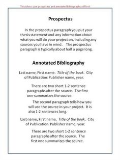 annotated bibliography essay example