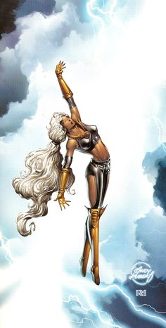"Storm - Ororo Iqadi T'Challa-Wakandas ✮✮Feel free to share on Pinterest"" ♥ღ www.unocollectibles.com"
