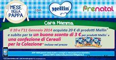Confezione cereali omaggio e buono sconto Mellin - http://www.omaggiomania.com/buoni/confezione-cereali-omaggio-e-buono-sconto-mellin/