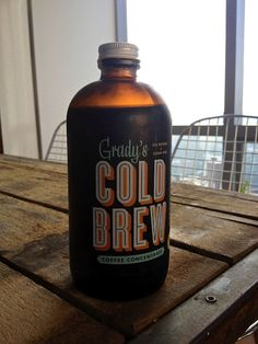 Grady's Cold Brew Coffee Concentrate. My FAVORITE bottled cold brew coffee —love it!