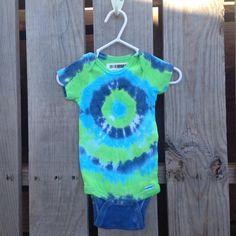 Boys' Clothing (newborn-5t) One-pieces Baby Unisex Hand Made Tie Dye Vest 0-3 Months