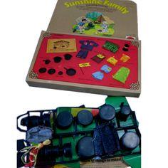 sunshine family mattel | mattel sunshine family camping craft kit #7790, 1975, unassembled