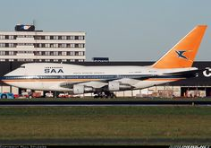 South African Airways ZS-SPE Boeing 747SP-44 aircraft picture