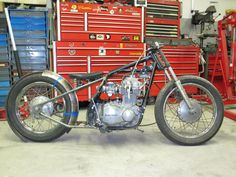 14 Best Inspiration For A KZ400 Hardtail Project Bike Images On