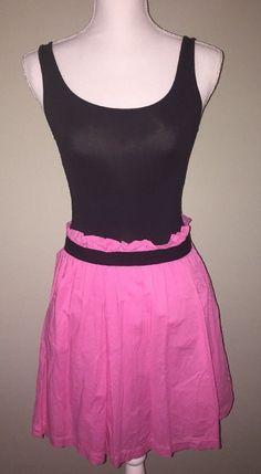 Victoria's Secret Pink Dress Black And Pink Size XS    eBay