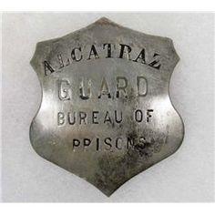Alcatraz Guard Bureau of Prisons