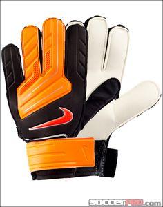 Nike GK Jr Grip Goalkeeper Gloves - Black with Red...$17.99
