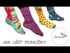 Ponožky na nožky (střih a návod)   Caramilla