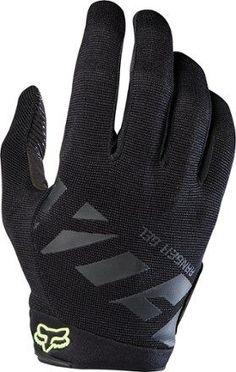 XXL Red Fox Reflex Gel Cycling Gloves 2016 XL Black