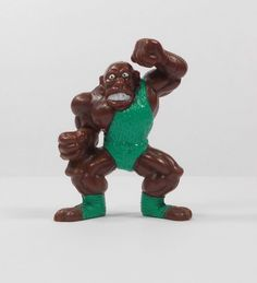 Monster Wrestlers In My Pocket - W1 Iron Mighty - Mini Toy Figure