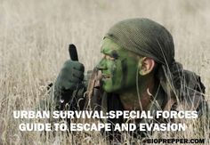 """In the military it's called """"E&E"""" or Escape and Evasion, and it has to do with what to do if you are captured or separated from you unit, or an airman downe"""