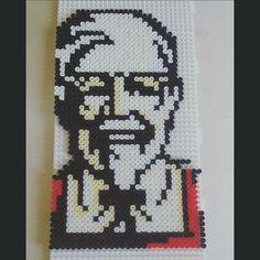 KFC perler beads by alicelazuli