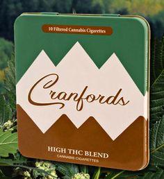 America's first all marijuana cigarettes Cranfords Cannabis Cigarettes. Only in Colorado PD