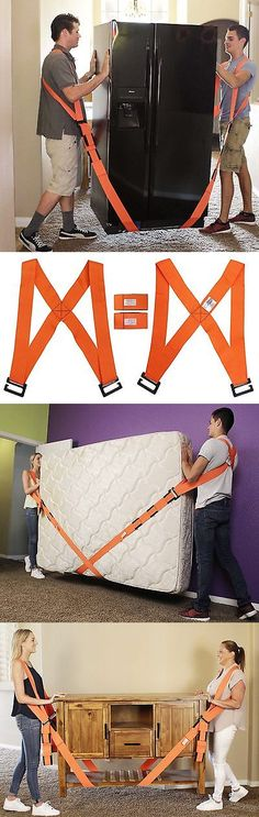 Tie Downs and Straps 85917: Forearm Forklift Cradle Moving Straps Heavy Lift Manual Furniture Shoulder Aid -> BUY IT NOW ONLY: $47.61 on eBay!