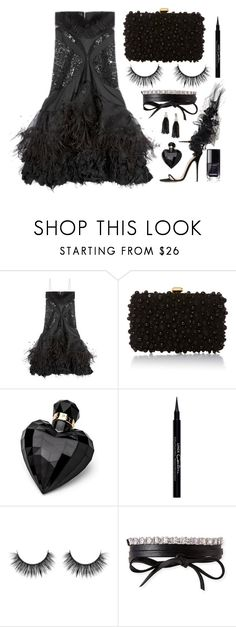 """Little Black Dress"" by texaspinkfox ❤ liked on Polyvore featuring GALA, Elie Saab, Lipsy, Givenchy, Fallon and Oscar de la Renta"