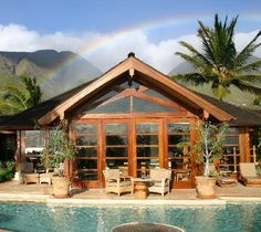 The Ho'oilo House on Maui. We highly recommend it and can't wait to go back!!!!!!!