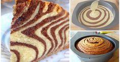 La ricetta della TORTA ZEBRATA: ci vuole FANTASIA in cucina!