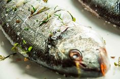 Marine Fish With Rosemary And Thyme Recipe ~ Food Network Recipes