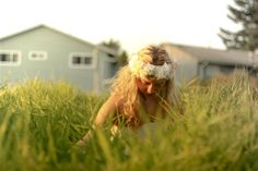 Just a gypsy in a meadow