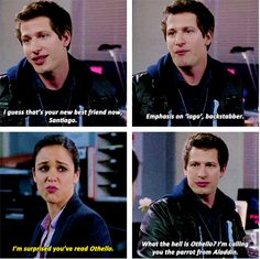 Jake Peralta and Amy Santiago, Brooklyn Nine-Nine
