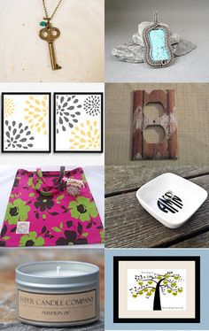 Cute finds to keep in mind! by Sunshine Petals Boutique - Rhonda Newton on Etsy--Pinned with TreasuryPin.com