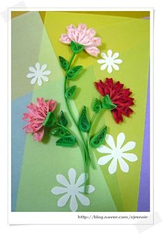 Carnations Decorating / Paper Forward: Naver Blog