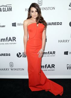 The Best and Worst Dressed at the amfAR Inspiration Gala Los Angeles | Lea Michele
