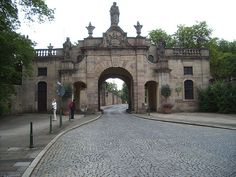 Fulda, Germany part of the original city wall - appreciate the beauty of a special place.