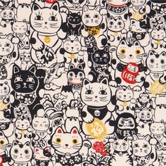http://www.kawaiifabric.com/en/p11678-light-cream-with-navy-blue-fortune-cat-fabric-from-Japan.html