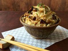 A Great Japanese Dish for Fall is Mushroom Rice or Kinoko Gohan