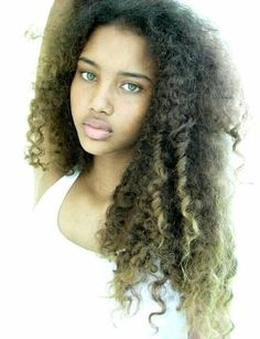 Natural Hair Pattern