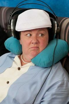 Melissa McCarthy...my favorite part of Bridesmaids.   SOOO Funny... if you haven't seen Bridesmaids, get off your computer and go watch it NOW!