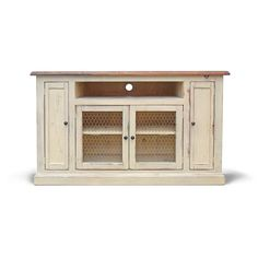 Media Console TV Stand Reclaimed Wood Entertainment Center