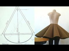 New Skirt Pattern Circle Diy Fashion Ideas Skirt Patterns Sewing, Clothing Patterns, Pattern Sewing, Pattern Drafting, Coat Patterns, Blouse Patterns, Look Fashion, Diy Fashion, Fashion Clothes