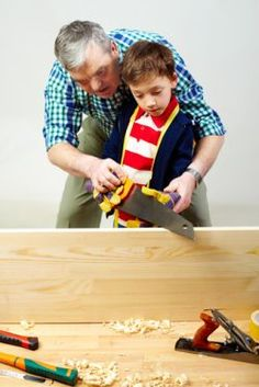 Teach children about power tool safety
