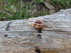 A personal favorite from my Etsy shop https://www.etsy.com/listing/472775339/starry-jasper-copper-wire-wrapped-ring