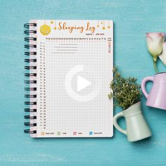 Excited to share this item from my shop: Sleep Tracker Printable , , Health Tracker, Daily Sleep Track Discbound Planner Insert, Monthly Sleep Log Template Printable How To Bullet Journal, Bullet Journal Tracker, Bullet Journal Notebook, Bullet Journal Ideas Pages, Journal Themes, Bullet Journal Inspiration, Bullet Journal Anxiety, Autumn Bullet Journal, Bullet Journal Health