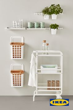 Cuisine Ikea : Kitchen Storage at IKEA Smart storage solutions for every space Sharing is caring, don't forget to share ! New Kitchen Cabinets, Ikea Kitchen, Kitchen Decor, Kitchen Design, Kitchen Shelves, Room Kitchen, Kitchen Ideas, Kitchen Storage Hacks, Diy Storage