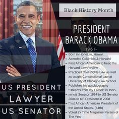 One of the greatest individuals to impact Black History by becoming the first African American to be elected as the 44th President of The United States. Barack Obama lived a life of discrimination because of his background. While his family moved various times before he was 10 he would experience things that would leave a lasting impression to create change in communities and society. He studied at Columbia University and Harvard University where he would graduate with a Law Degree. He would…