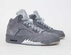 #AirJordan 5 Wolf Grey
